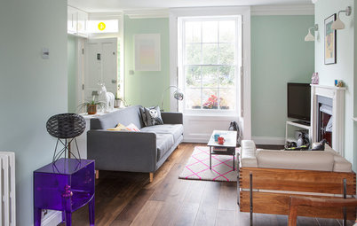 Houzz Tour: High-Low Mix in a Colorful Victorian