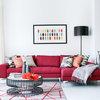 ソファで考える、大人っぽくハイセンスなピンクの使い方
