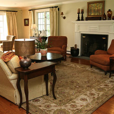 Traditional Living Room by Left Bank Home