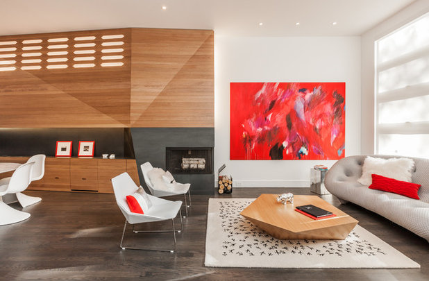 Contemporary Living Room by Actual Architecture Company