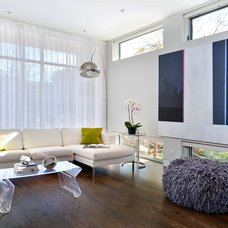 Modern Living Room by Linc Thelen Design