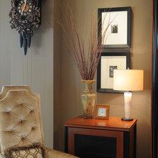 Contemporary Living Room by Brian Dittmar Design, Inc.