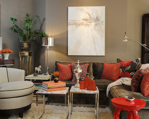 Wonderful Taupe Red. Red Taupe Living Room Housetohome Part 3