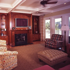 traditional living room by Marshall M. Driver Architect