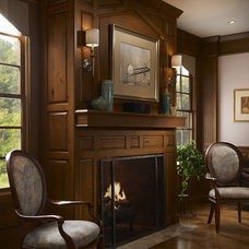 Traditional Living Room by Cabinet Innovations