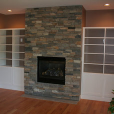 Traditional Living Room by Barnard Woodworks, LLC