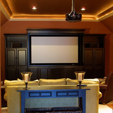 Traditional Living Room by Dopko Cabinetry