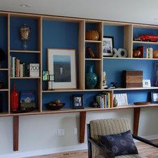 Contemporary Living Room by Forward Design Build