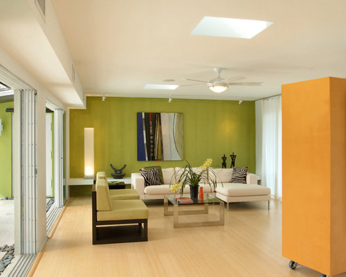 Lime Green Walls | Houzz