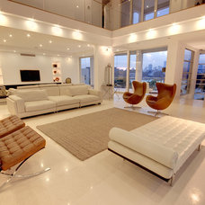 Modern Living Room by Builtex Homes