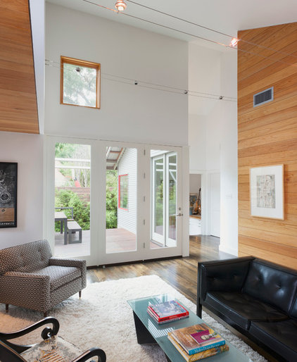 Contemporary Living Room by Rick & Cindy Black Architects