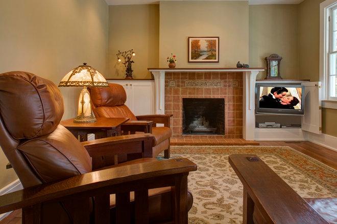 Traditional Living Room by Matt Dirksen