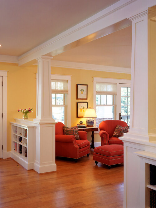 Half Wall Bookshelf Home Design Ideas, Pictures, Remodel and Decor