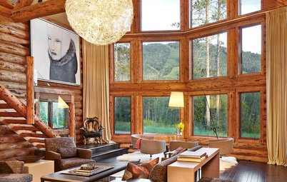 Room of the Day: Refining the Rustic in a Log Home