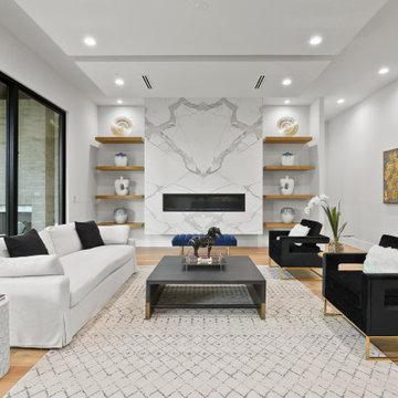Burgundy - Living Room
