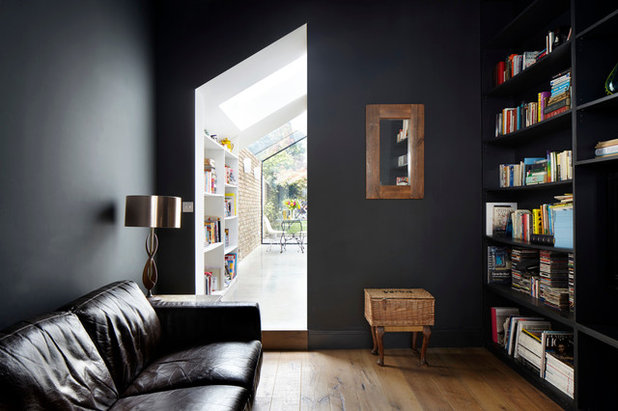 Contemporary Living Room by RISE Design Studio