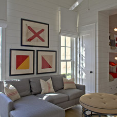 Eclectic Living Room by Geoff Chick & Associates