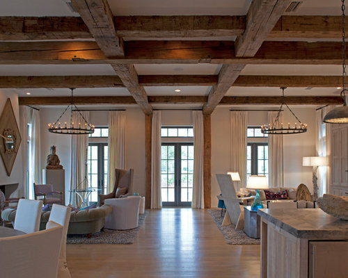 Wood Beam Ceiling Ideas Pictures Remodel And Decor