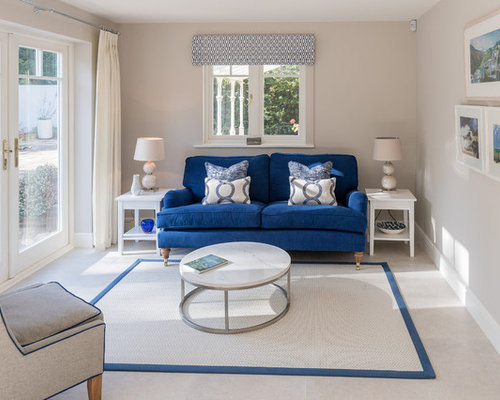 Houzz coastal living rooms