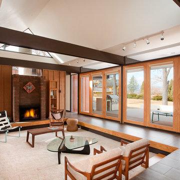 Busch House - Living Room