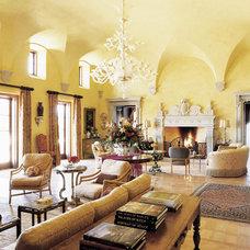 Mediterranean Living Room by Bushman Dreyfus Architects