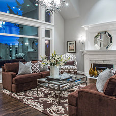 Contemporary Living Room by DME Construction