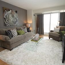 Contemporary Living Room by Design To Go