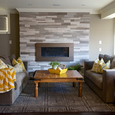 Contemporary Living Room by Glow Interiors