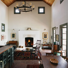 Farmhouse Living Room by Michael G Imber, Architects