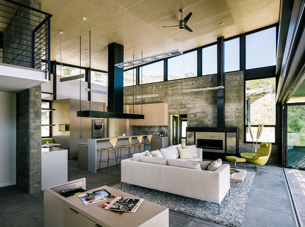 Contemporary Living Room by Feldman Architecture, Inc.