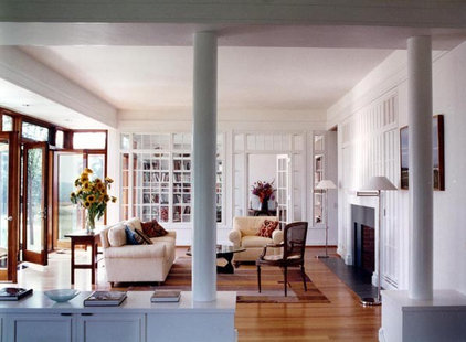 Traditional Living Room by Buttrick Wong Architects