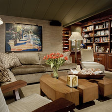 Contemporary Living Room by bw design group