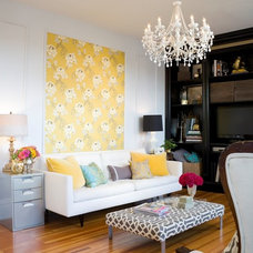Traditional Living Room by Summer Thornton