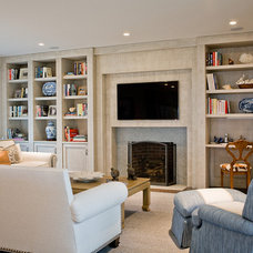 Traditional Living Room by Venegas and Company