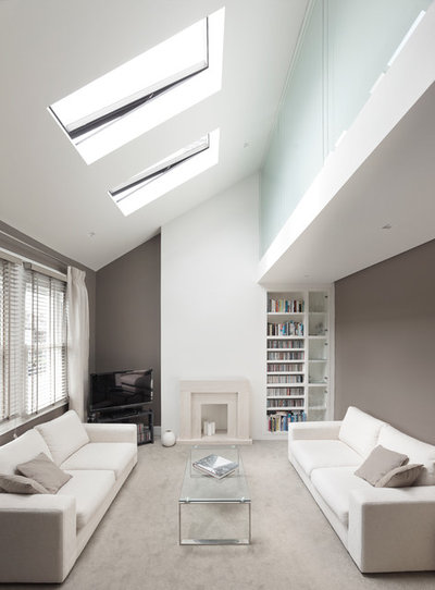Contemporary Living Room by POW Architects