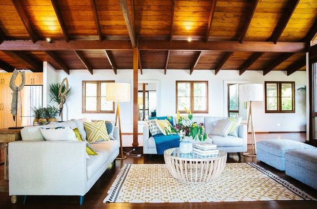 Tropical Living Room Byron Bay