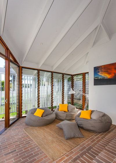 Lovely Contemporary Living Room By Smith Architects Part 13