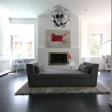 Modern Living Room by catlin stothers design