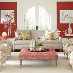 traditional living room by Barbara Schaver @ Furnitureland South