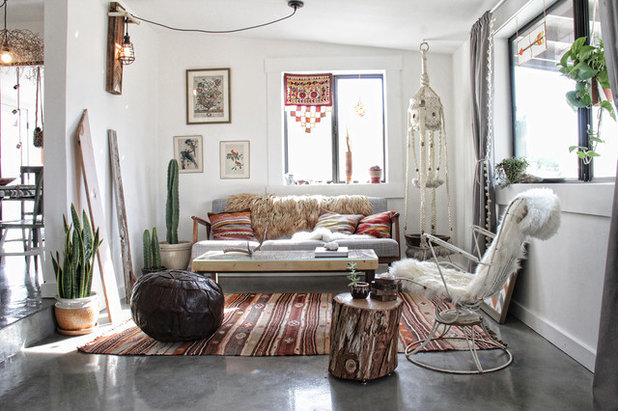 Eclectic Living Room by We Are In Our Element