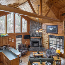 Rustic Living Room by Jason Wallace Photography