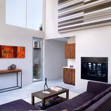 Contemporary Living Room by Modal Design