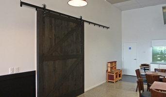 Cafe Barn Doors
