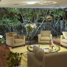 Contemporary Living Room by vgzarquitectura y diseño sc