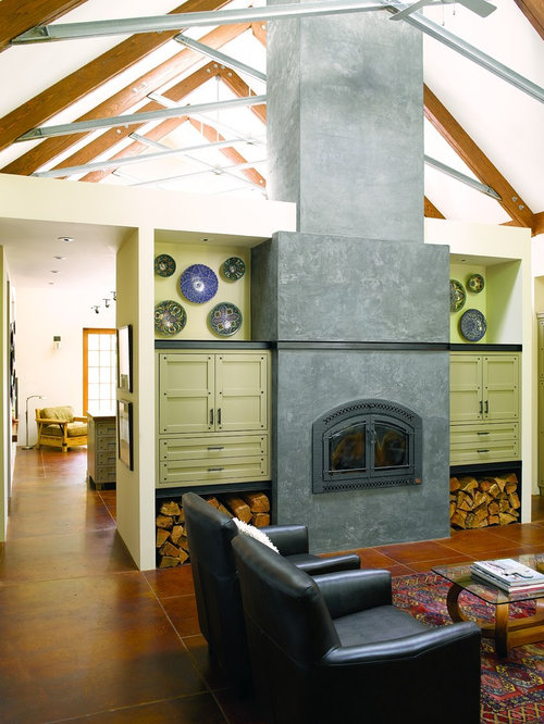 Double Sided Wood Burning Fireplace Home Design Ideas