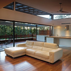 Contemporary Living Room by Tim Ditchfield Architects