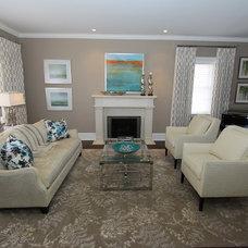 Contemporary Living Room by Chic Decor & Design, Margarida Oliveira