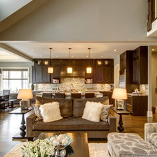 Traditional Living Room by Rockwood Custom Homes