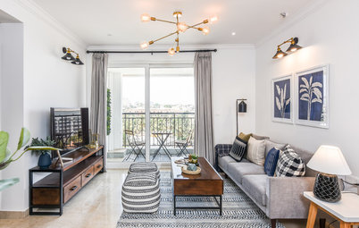 Houzz Tour: California Casual Vibes Fill Up a Bangalore Apartment