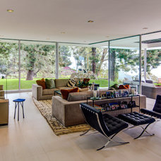 Midcentury Exterior by Western Window Systems